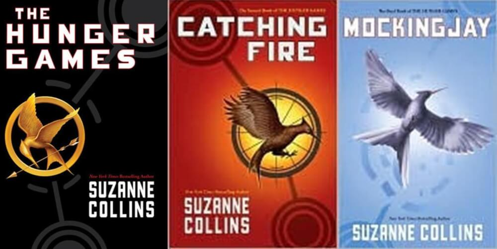 The Hunger Games Series covers