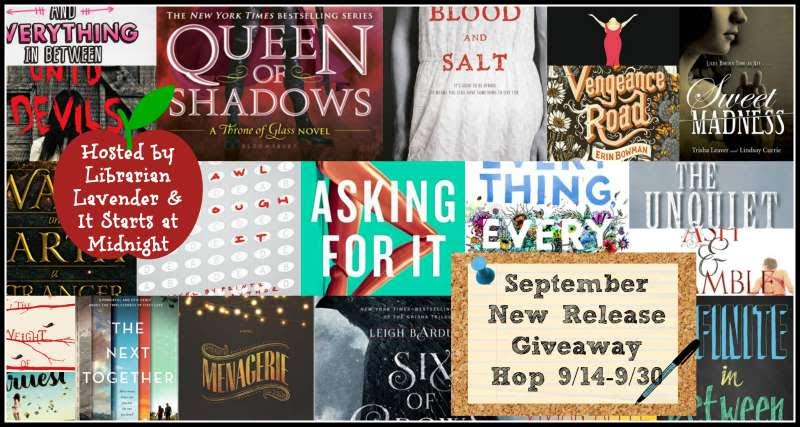 September New Release Giveaway Hop!