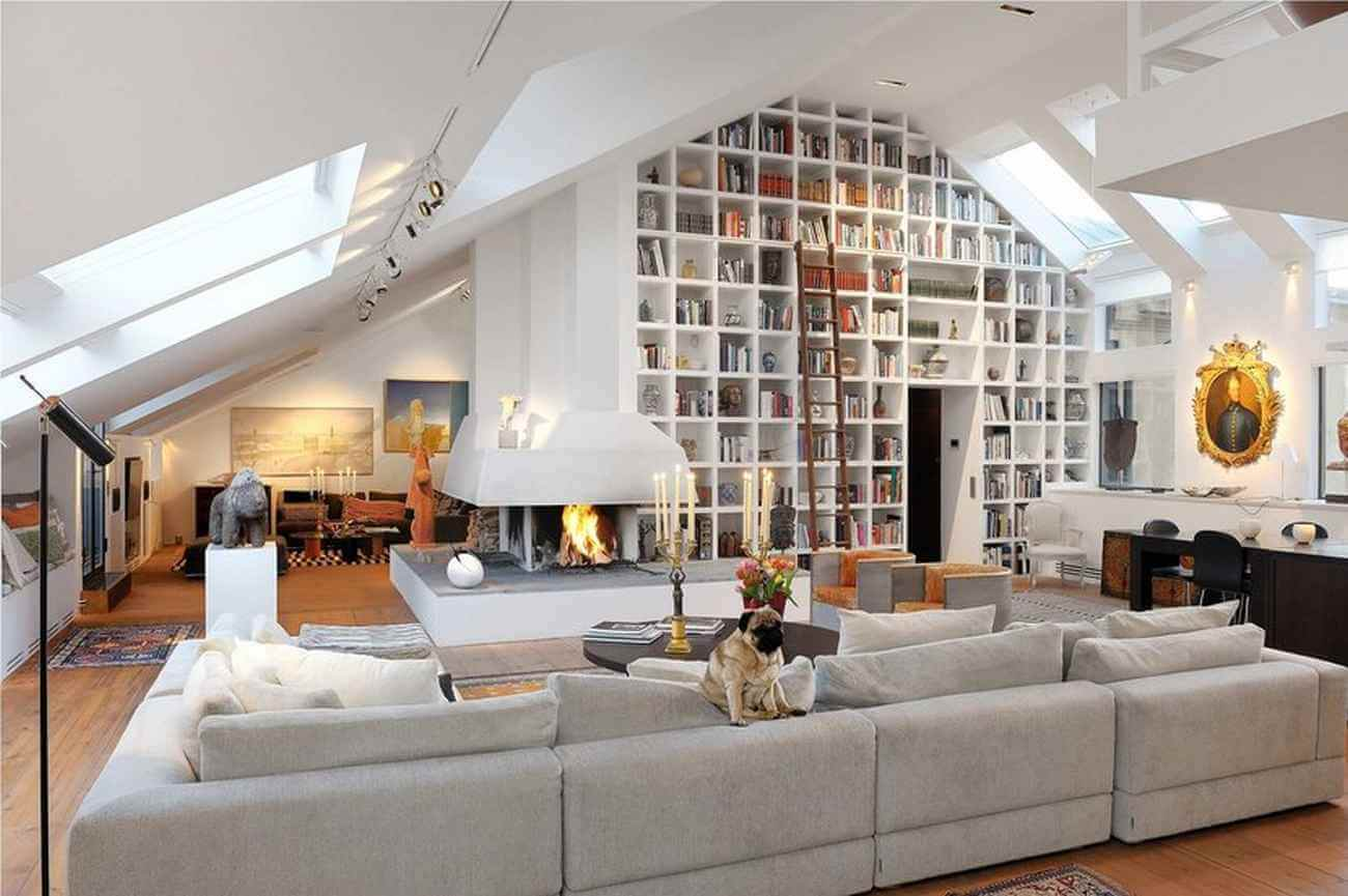 Loft apartment organization: and after bethenny frankels remodeled ...