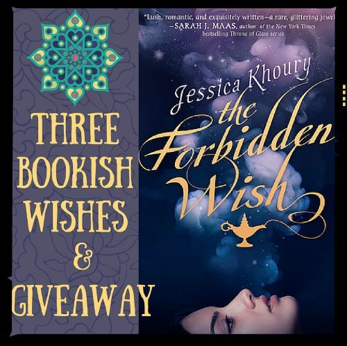 3 Book Wishes& Giveaway!