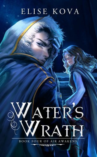 Cover Reveal & Giveaway | Water's Wrath by Elise Kova