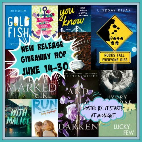 June New Release Giveaway!