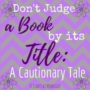 Don't Judge Book by Its