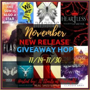 November New Release Giveaway Hop!