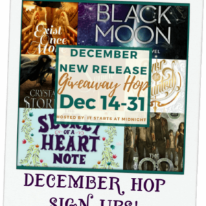 December 2016 New Release Giveaway Hop Sign Ups!
