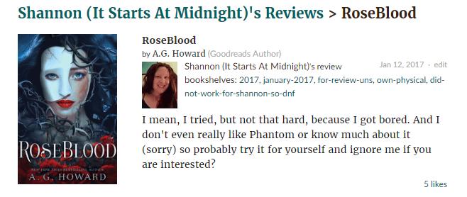 RoseBlood Review